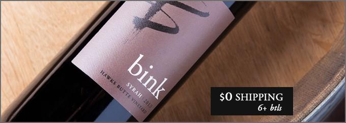 2013 Bink Syrah Hawks Butte Vineyard