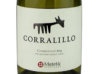 2014 Matetic Corralillo Chardonnay