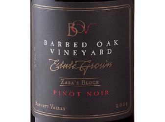 2014 Barbed Oak Pinot Noir