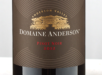 2012 Domaine Anderson Pinot Noir