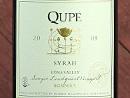 2009 Qupé Sonnie's Syrah