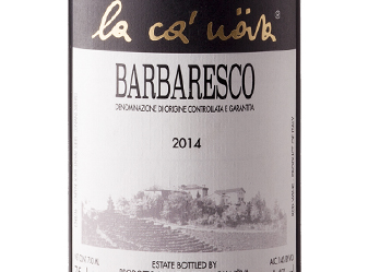 2014 La Ca' Nova Barbaresco