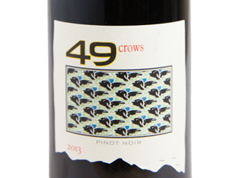 2013 49 Crows Pinot Noir