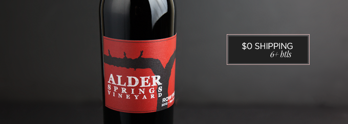 2012 Alder Springs Row Five Cuvée Red