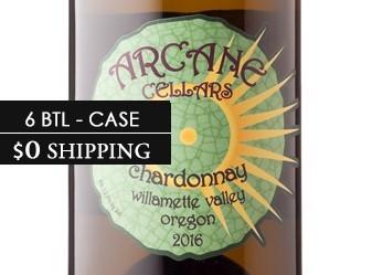 2016 Arcane Estate Chardonnay ½ Case