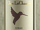 2010 Clos La Chance Estate Syrah
