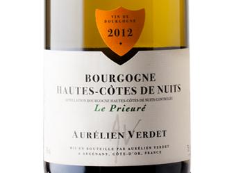 """2012 Verdet """"Le Prieure"""" Blanc"""