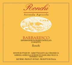 2013 Ronchi 'Ronchi' Barbaresco