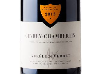 2013 Verdet Gevrey-Chambertin Rouge