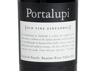 2014 Portalupi Old Vine Zinfandel
