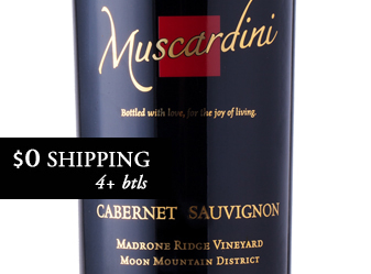 2014 Muscardini Cabernet Sauvignon