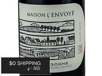 2012 L'Envoye Bourgogne Rouge