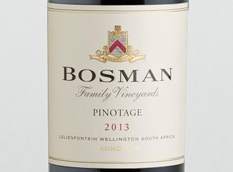 2013 Bosman Pinotage