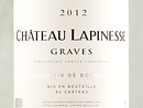 2012 Chateau Lapinesse Graves Blanc