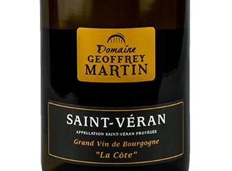 2013 Domaine Geoffrey Martin 'La Côte
