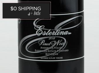 2013 Esterlina Reserve Pinot Noir