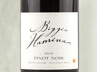 2010 Biggio Hamina Zenith Pinot Noir