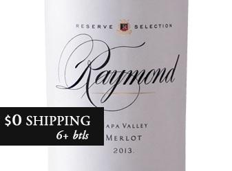 2013 Raymond Reserve Merlot