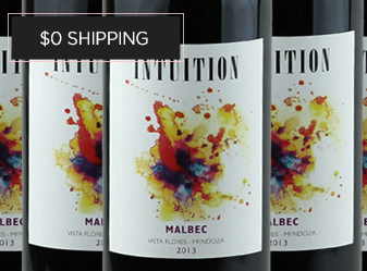 2013 Intuition Malbec Case Deal