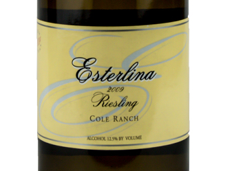 2009 Esterlina Riesling