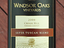 2008 Windsor Oaks Super Tuscan Blend