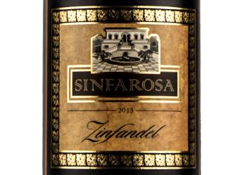 2013 Sinfarosa Zinfandel
