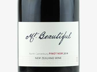 2014 Mt. Beautiful Pinot Noir