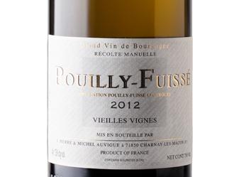 2012 Auvigue Pouilly-Fuissé VV