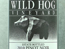 2010 Wild Hog Estate Pinot Noir