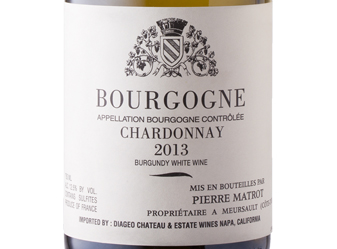 2013 P. Matrot Bourgogne Blanc