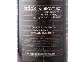 2014 Brick & Mortar Pinot Noir