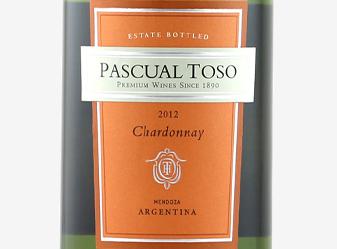 2012 Pascual Toso Estate Chardonnay