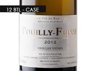 2012 Auvigue Pouilly-Fuissé VV Case