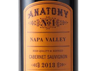 2013 Anatomy No.1 Cabernet Sauvignon