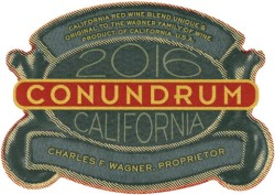 2016 Conundrum Red