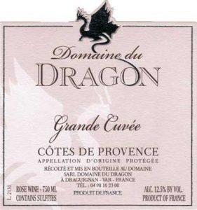 2018 Domaine de Dragon 'Grande Cuvée'