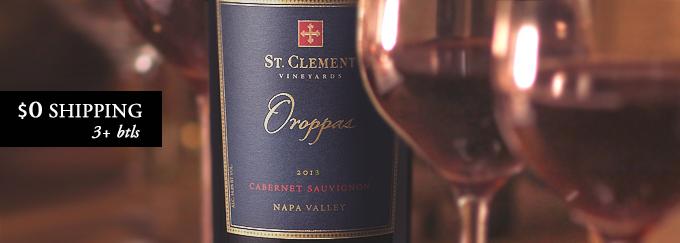 2013 St Clement Cabernet Sauvignon