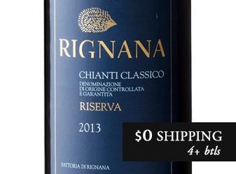 2013 Rignana Chianti Classico Riserva