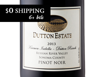 2013 Dutton Estate Pinot Noir x12