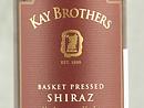 2011 Kay Brothers Shiraz