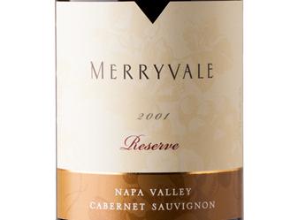 2001 Merryvale Reserve Cab Sauv