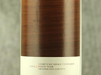 2012 Comptche Ridge Pinot Noir