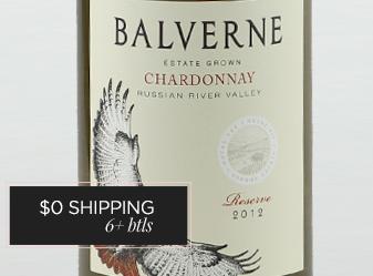 2012 Balverne Estate Rsv Chardonnay