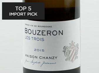 2015 Chanzy Bouzeron Les Trois Blanc