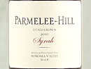 2010 Parmelee-Hill Estate Syrah