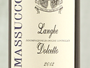 2012 Massucco Dolcetto Langhe