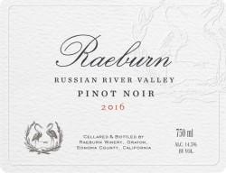 2016 Raeburn Pinot Noir