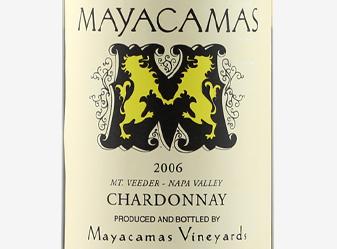 2006 MAYACAMAS CHARDONNAY