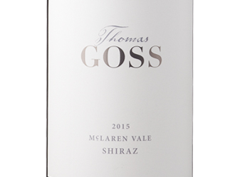 2015 Thomas Goss Shiraz