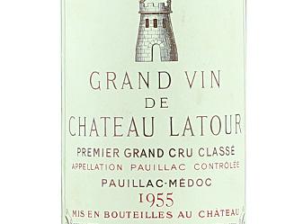 1955 Chateau Latour (6-D)